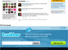 home page twitter