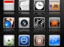 my ielegance theme iphone