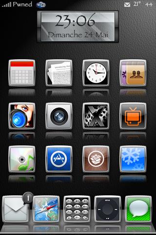 my ielegance theme iphone