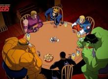 super heros poker