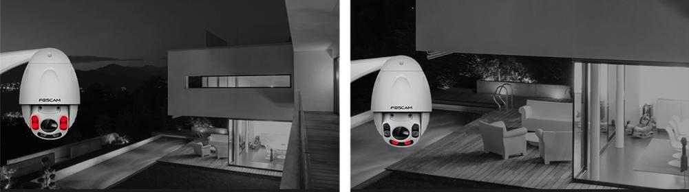 cam ra ip foscam fi9928p vid osurveillance distance. Black Bedroom Furniture Sets. Home Design Ideas